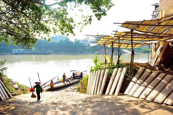 Đặc sản Bánh Đa Thổ Hà ở Bắc Giang