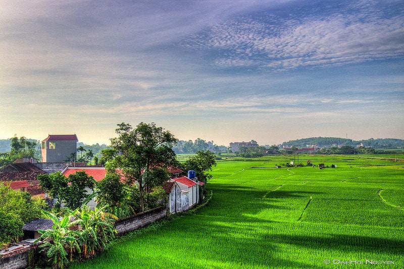 Cảnh đẹp đồng quê Bắc Giang