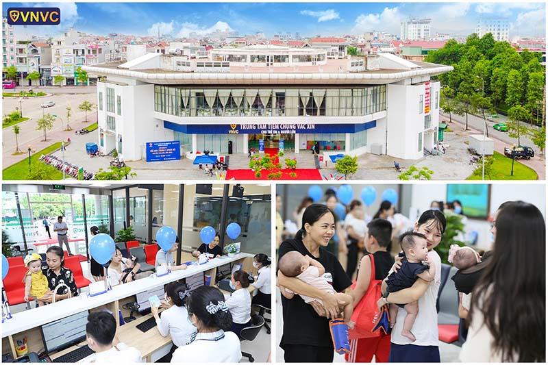 Hình ảnh khai trương VNVC Bắc Giang