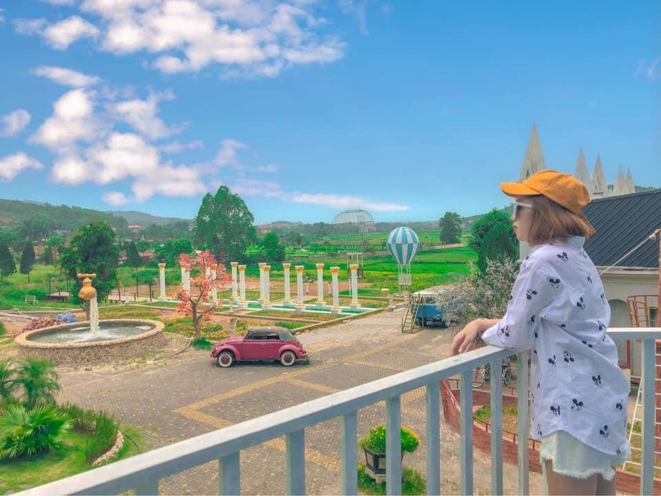 Quang cảnh công viên giải trí wedding land Bắc Giang