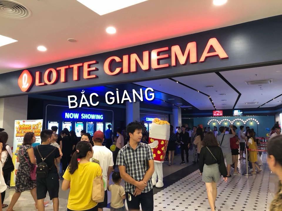 Rạp chiếu phim Lotte Cinema Big C Bắc Giang