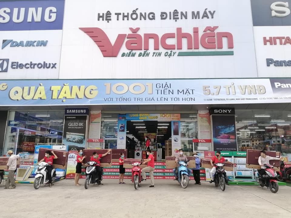 Hệ thống điện máy Văn Chiến Bắc Giang